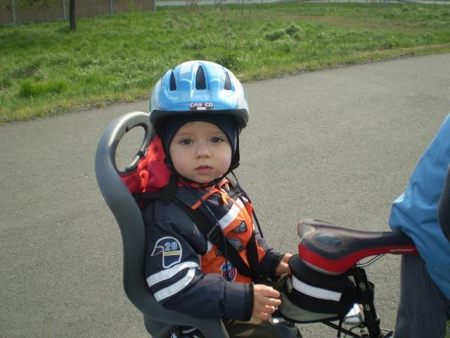 Radovánek na kole